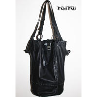 KMRii ・ケムリ・BLACK JACK LONG TOTE・トートバッグ