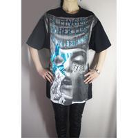 Share spirit・シェアースピリット・KS2001・Smoking Girl・bigTシャツ