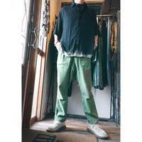 KMRii ・ケムリ・Dischaged Rayon Box Shirt・シャツ・Black