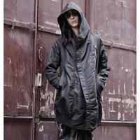 KMRii ・ケムリ・'19/A/W・ HOODED MONOLITH COAT・コート