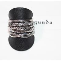 gunda ・ガンダ・STACK・silver925・Ring・size16・2019 A/W