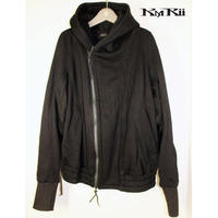 KMRii ・ケムリ・Fooded Fleece Blouson・Man's ・フードパーカー