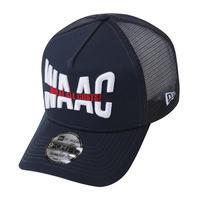 【WAAC】NEW ERA コラボ 9FORTY A-FRAMEメッシュキャップ ネイビー/072304803
