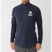 【WAAC】レイヤーズエディションライン MENSハイネック長袖Tシャツ ネイビー/072304010