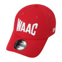【WAAC】NEW ERA コラボ MENS キャップ レッド/072302854