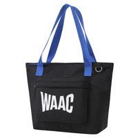 【WAAC】配色カートバッグ ブラック/072304846