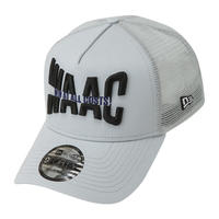 【WAAC】NEW ERA コラボ 9FORTY A-FRAMEメッシュキャップ グレー/072304803