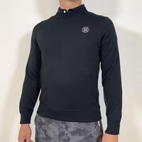 【G/FORE】MENS Proof PLUS α クルーネックセーター ONYX/072211701