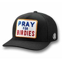 【G/FORE】プレミアムストレッチ PRAY FOR BIRDIES スナップバックキャップ ONYX/072404836