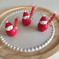 いちご飴の苺ぼうやマスコット