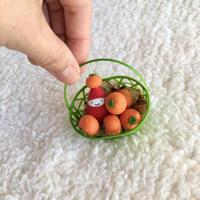 かごみかんの苺ぼうやオブジェ