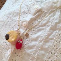 苺ぼうやネックレス/アイスサンドクッキー