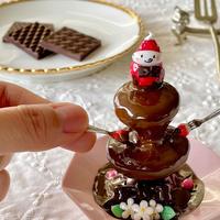バレンタイン Sweetなチョコレートファウンテン オブジェ