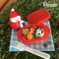 苺ぼうやのキャラ弁ピクニックセットオブジェ