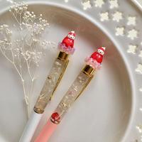 苺ぼうやのハーバリウムペン