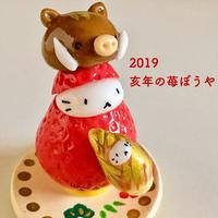 2019亥年の苺ぼうや