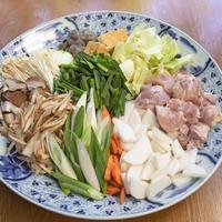 大山鶏の醤油ちゃんこ(大山鶏+大山鶏のつくね増量) 2〜3人前