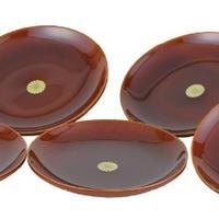 春慶 銘々皿 (木製)