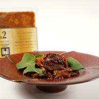 法善寺横丁 カルコスオリジナル 牛肉とポルチーニ茸のパスタソース