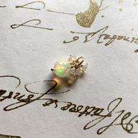 Opal & K10YG Charm