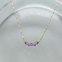 range Necklace -Amethyst