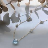 BonBon Aquamarine K10 Necklace