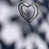 Atlica -heart bangle I- silver