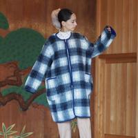SIIILON reversible boa coat