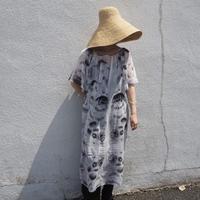 ACCIDENTE CON FLORES - HORTENSIA - dress