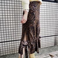 liroto leopard skirt