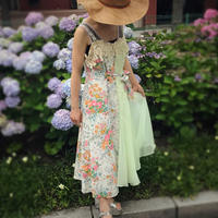 CATHY flower print remake dress