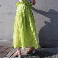 ACCIDENTE CON FLORES - PALOMA - printed skirt