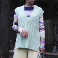 rus -BURASHI- knit vest