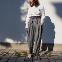 MALKA MOMA volume pants(gray)