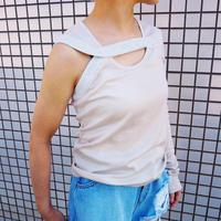 kotohayokozawa Asymmetry T shirt