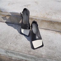 YCH square sandals