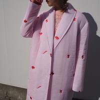 MINJUKIM chiffon padding gown