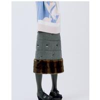 MINJUKIM padding skirt