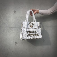 ondev knit bag tore(white)