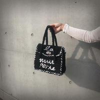 ondev knit bag tore(black)