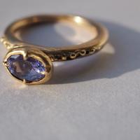Atlica tanzanite ring