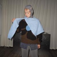 rus -SUISEI- knit scarf