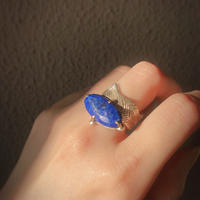 Atlica lapis lazuli ring