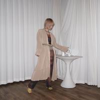 kotohayokozawa pleats coat
