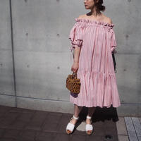 MINJUKIM Off Shoulder Dress