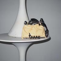 SCOTRIA - PANORAMA BAG - egg × black