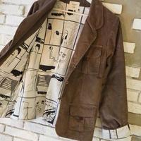ACCIDENTE CON FLORES - PAU - corduroy jacket