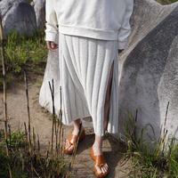 rus -AUBE- knit skirt