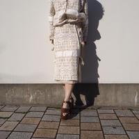 DECO depuis 1985 curtain lace skirt