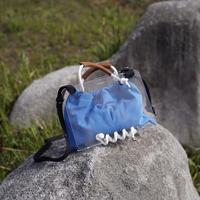 SCOTRIA - PANORAMA BAG - blue × white